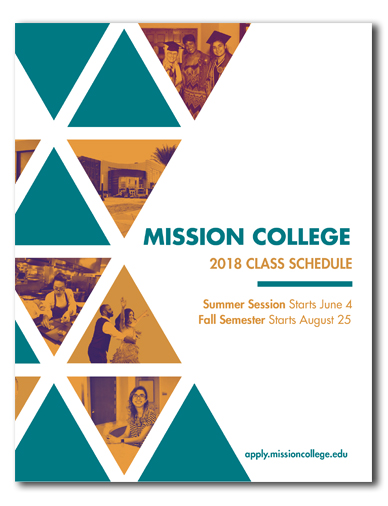 collage of students and building on cover